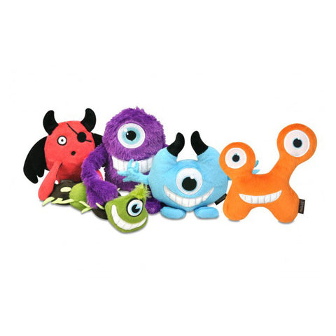 P.L.A.Y. Momo's Monsters Plush Toys<BR/>外星怪獸 - 5 件組