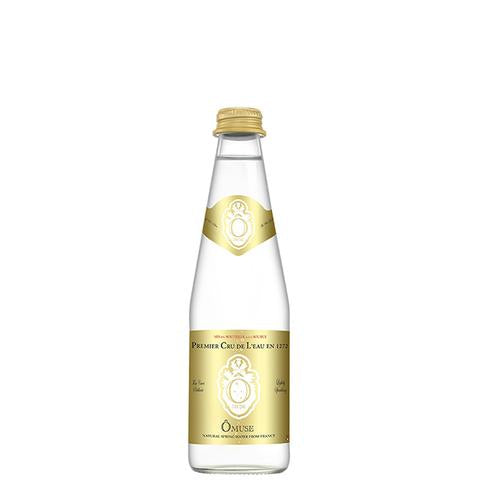 OMUSE Natural Spring Water, Lightly Sparkling 法國歐慕仕卓越微氣泡礦泉水 - 330ml (36入/3組)