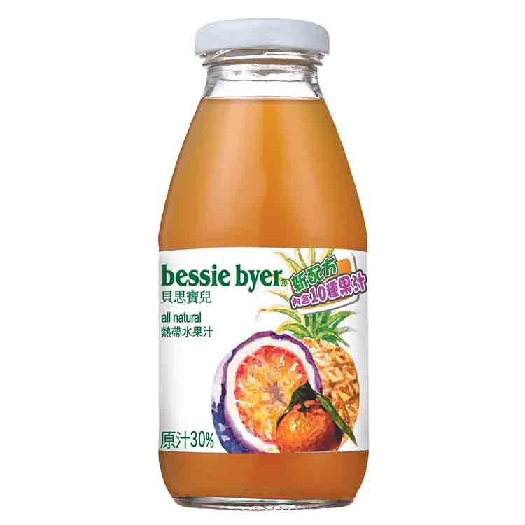 BESSIE BYER Tropical Fruit Juice<br/>熱帶水果汁 (24入/箱)