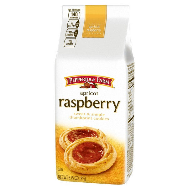 PEPPERIDGE FARM Sweet & Simple - Apricot Raspberry<br/>琣伯莉維諾納餅乾(6入) - Shark Tank Taiwan