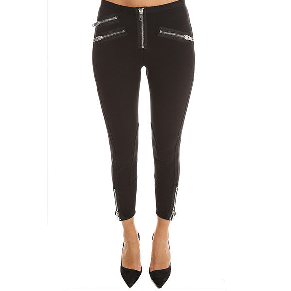 3.1 PHILLIP LIM Exposed Zip Moto Legging<br/>拉鍊款小腳內搭褲