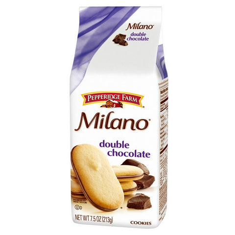 PEPPERIDGE FARM Milano Cookie - Double Chocolate<br/>琣伯莉雙層巧克力米蘭餅乾(6入)