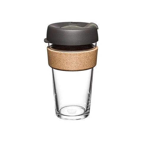 KEEPCUP Reusable Coffee Cup<br/>軟木系列咖啡杯 454ml - 鎧甲銀