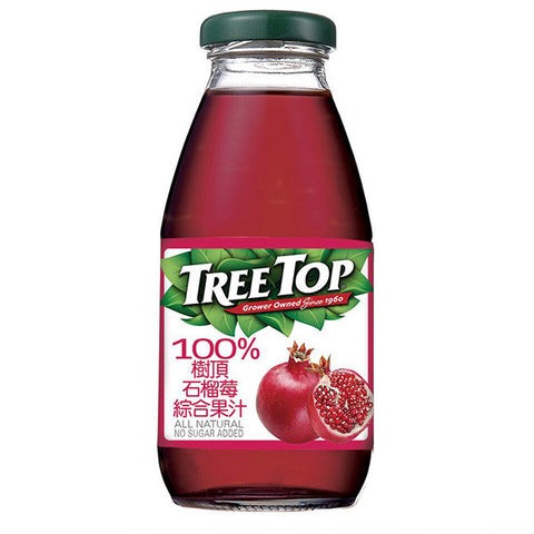 TREE TOP All Natural Pomegranate Juice<br/>樹頂 100% 石榴莓綜合果汁 300ml (24入/箱)