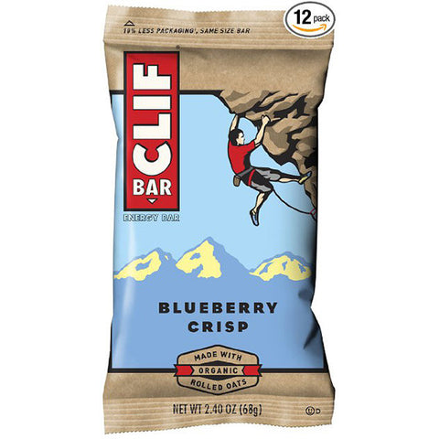 CLIF Blueberry Crisp Bar<BR/>藍莓營養棒 (12入)