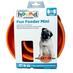 OUTWARD HOUND Slow Feeder<br/>珊瑚慢食碗 (小) - Shark Tank Taiwan