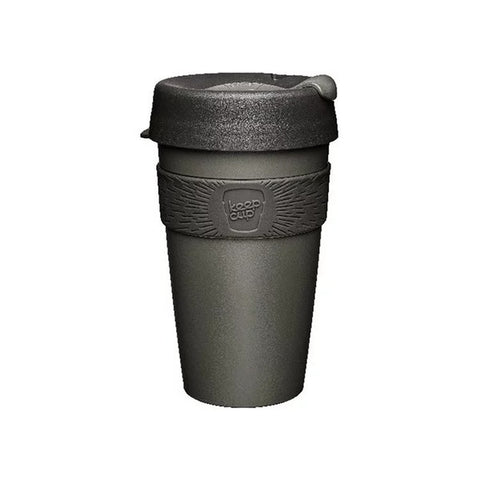 KEEPCUP Reusable Coffee Cup<br/>隨身咖啡杯 454ml -鎧甲銀