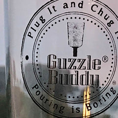 GUZZLE BUDDY Beer Bottle - Borosilicate Glass<BR/>暢飲玻璃啤酒杯