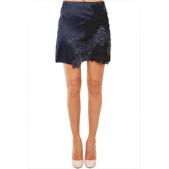 3.1 PHILLIP LIM Satin Faced Organza Skirt<BR/>立體雕花緞面窄裙