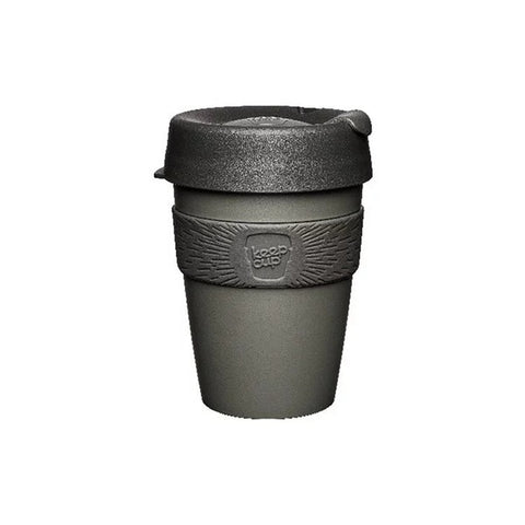 KEEPCUP Reusable Coffee Cup<br/>隨身咖啡杯 340ml - 鎧甲銀