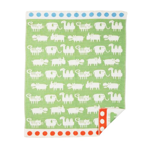 KLIPPAN Cotton Blanket<br/>瑞典舒柔純棉毯 小非洲 (共2色) - Shark Tank Taiwan