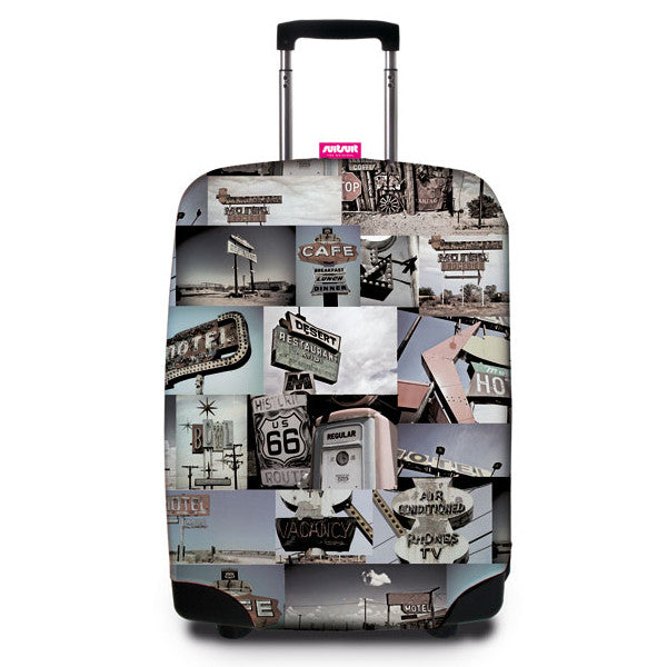 SUITSUIT Suitcase Cover<br/>行李箱保護套 - 66 號公路 - Shark Tank Taiwan