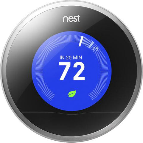 Nest - 2nd-Generation Learning Thermostat - Stainless-Steel - Shark Tank Taiwan 歐美時尚生活網