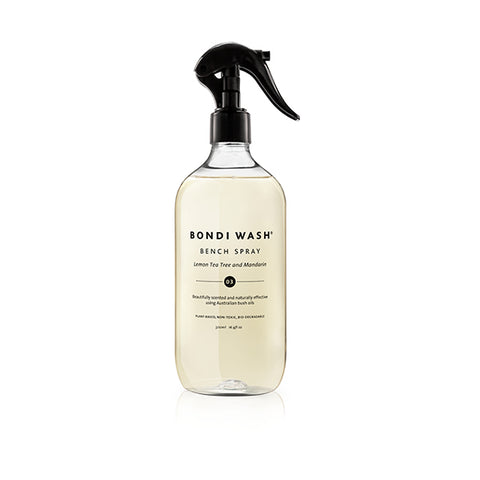 BONDI WASH Bench Spray Lemon Tea Tree & Mandarin<br/>檸檬茶樹 & 柑橘居家清潔噴霧