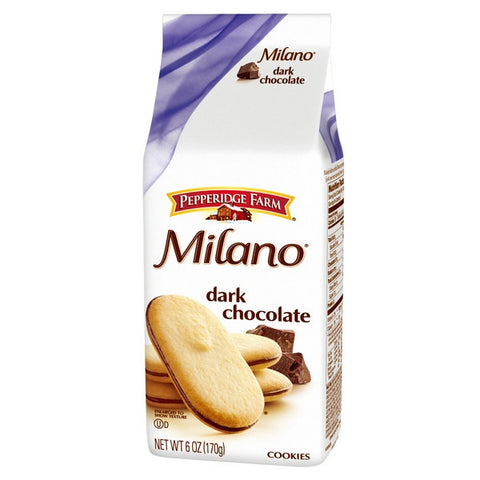 PEPPERIDGE FARM Milano Cookie - Dark Chocolate<br/>琣伯莉米蘭餅乾(6入)
