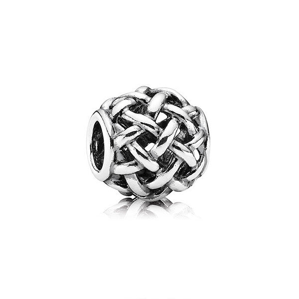 PANDORA Silver Forever Entwined Charm - Shark Tank Taiwan