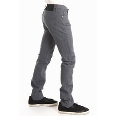 Skinny Guy in Grey Stretch Selvedge<br/>灰色彈性牛仔褲 - Shark Tank Taiwan