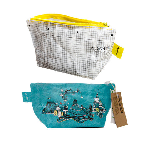 PAPRCUTS. DE Makeup Bag<br/>化妝包 - 塗鴉風 (共2款) - Shark Tank Taiwan