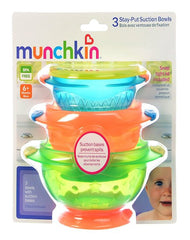 Munchkin 3 Count Stay Put Suction Bowl - Shark Tank Taiwan
