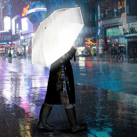 SUCK UK Reflective Umbrella<BR/>安全一把罩反光傘