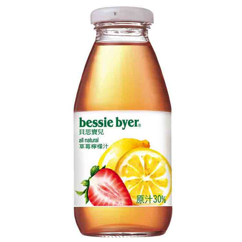 BESSIE BYER Strawberry Lemon Juice<br/>草莓檸檬汁 (24入/箱)