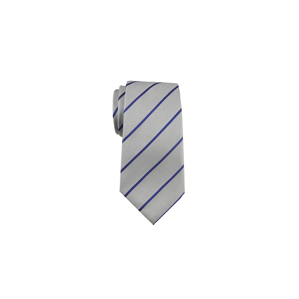Valentino Tie 范倫鐵諾領帶 A85LSV0981 2 BLUE STRIPE - Shark Tank Taiwan