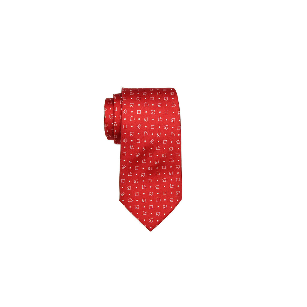 Valentino Tie 范倫鐵諾領帶 A85LSV1204 7 RED - Shark Tank Taiwan