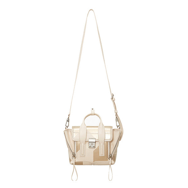 3.1 PHILLIP LIM Pashli Mini Satchel (AS15-0226FNP) - Shark Tank Taiwan