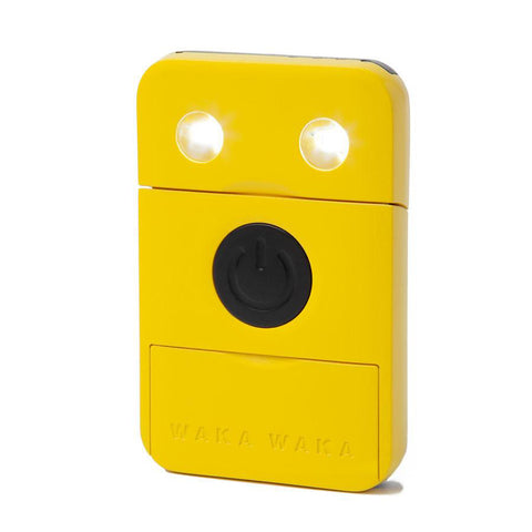 WAKAWAKA Rechargeable Solar Light <br />太陽能蓄電環保隨身 LED 燈