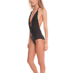 TORI PRAVER Luna Fringe One Piece Swimsuit<br/>波浪連身泳裝 - Shark Tank Taiwan