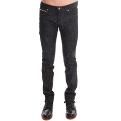 Super Skinny Slub Stretch Selvedge<br/>緊身彈力牛仔褲 - Shark Tank Taiwan