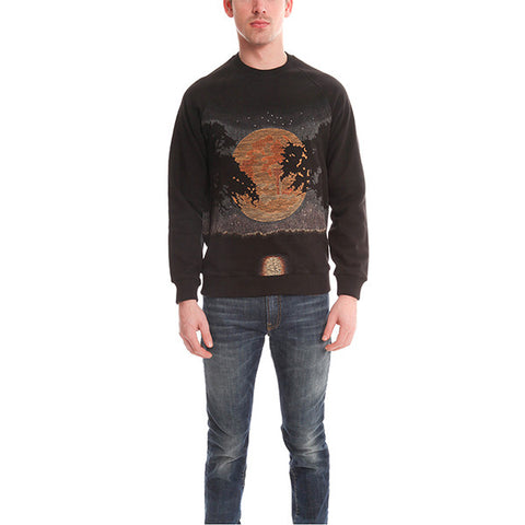 Harvest Moon Embroidered Sweater<br/>月亮繡花毛衣 - Shark Tank Taiwan