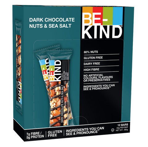 BE-KIND Nuts and Spices Variety Pack Bars 綜合堅果棒 (4盒組)