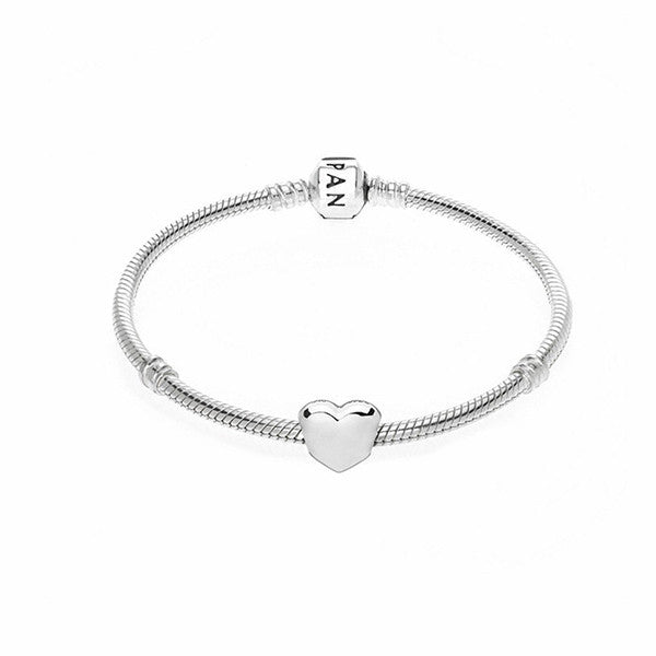 PANDORA Simple Heart Bracelet - Shark Tank Taiwan