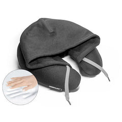 HOODIEPILLOW® Memory Foam Travel Hoodie Pillow<br/>連帽記憶枕 (共4色) - Shark Tank Taiwan