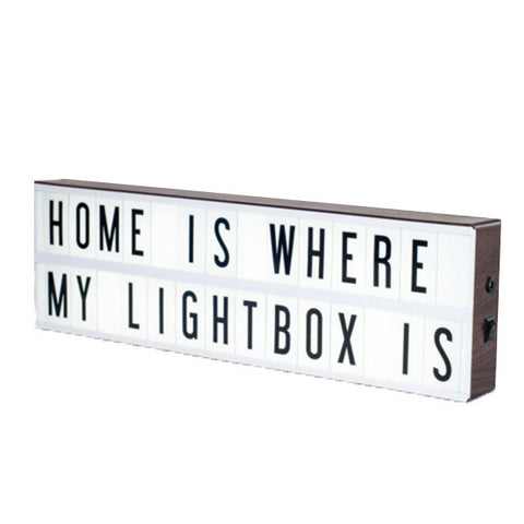 MY CINEMA LIGHTBOX Vintage Cinema Lightbox<BR/>復古電影院燈箱 – 懷舊版