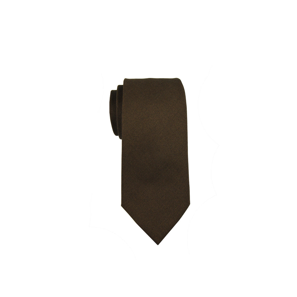 Valentino Tie 范倫鐵諾領帶 CZZPMST095 3 BROWN - Shark Tank Taiwan