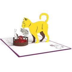LOVEPOP Cat Mom 3D card<br>萬用卡片-小貓咪乖乖睡 - Shark Tank Taiwan
