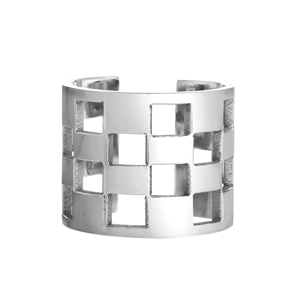 Croatia Check - Ring - Silver - Shark Tank Taiwan