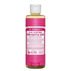 DR.BRONNERS Pure Castile Soap - Rose<br/>玫瑰潔膚露 (2oz/8oz) - Shark Tank Taiwan