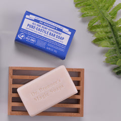 DR.BRONNERS 5oz Pure Castile Bar Soap - Mint<br/>薄荷潔膚皂 - Shark Tank Taiwan