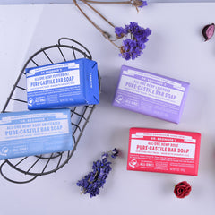 DR.BRONNERS 5oz Pure Castile Bar Soap - Rose<br/>玫瑰潔膚皂 - Shark Tank Taiwan