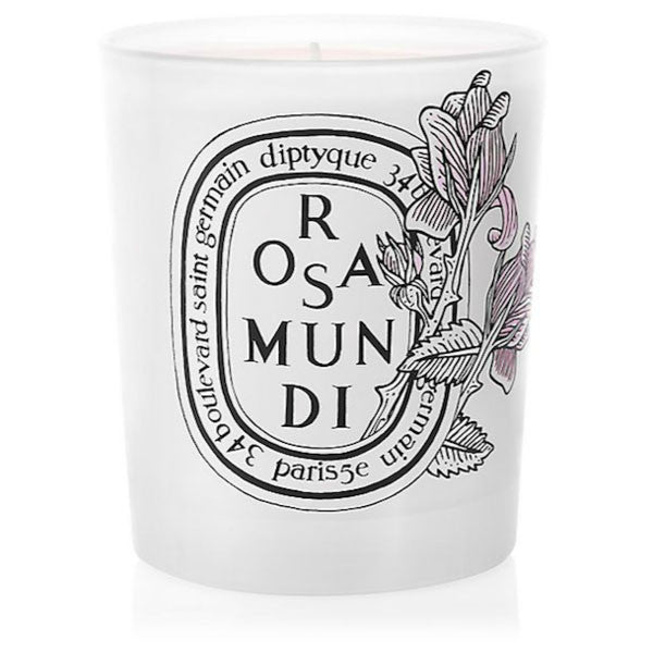 Diptyque - Limited-Edition Rosa Mundi Candle/6.5 oz. - Shark Tank Taiwan 歐美時尚生活網