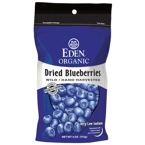 EDEN Organic Dried Blueberries<br/>有機野生藍莓乾 (2入)