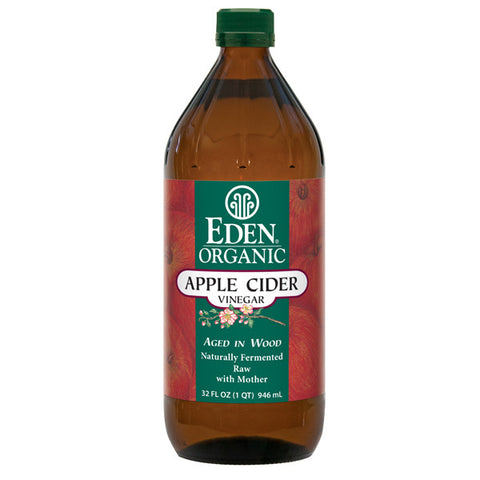 EDEN Organic Apple Cider Vinegar<br/>有機蘋果生醋 (2入)