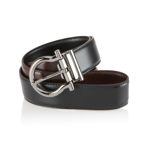 Ferragamo - Reversible and Adjustable Belt - Shark Tank Taiwan