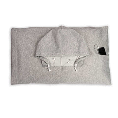 HOODIEPILLOW® - Hooded Pillowcase<br/>連帽充氣枕 (共5色) - Shark Tank Taiwan 歐美時尚生活網