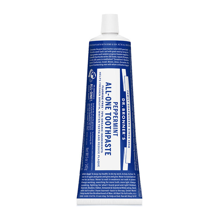 DR.BRONNERS All - One Toothpaste<br/>薄荷潔牙膏 - Shark Tank Taiwan