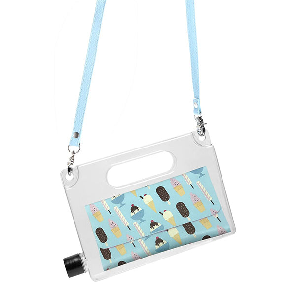 AQUAPURSE The Water Bottle / Handbag<BR/>時尚水壺包 - 冰淇淋
