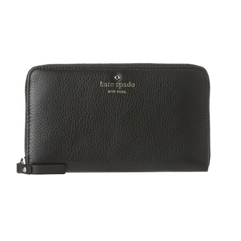 Kate Spade New York - Cobble Hill Leather Wallet - Black